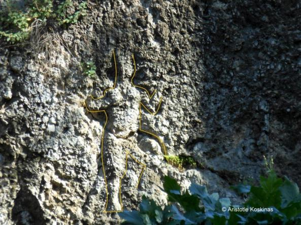 God Pan's relief in Athens - outline