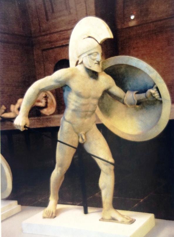 Figure II, pediment of Aphaia, Munich, Glyptotek